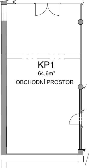 Komerční prostor KP1