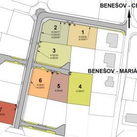 Masterplan Stavební pozemky Benešov - Mariánovice