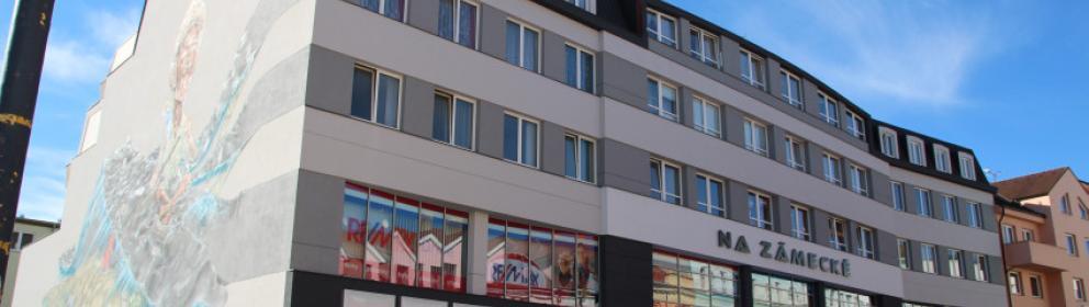 Pronájem kanceláří a obchodních prostor - Integrovaný dům, Tyršova 2071, Benešov