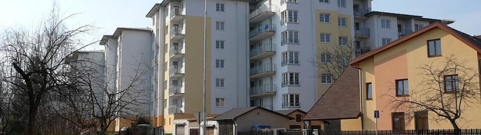Bytové domy Černoleská, Benešov